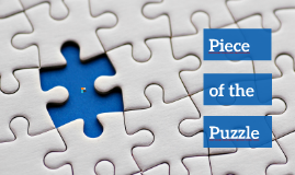 Piece of the Puzzle - Free Prezi Template