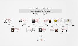 Copy of Evolución de la Calidad