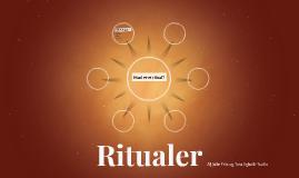 Hvad er ritualer?