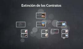 Extinción de los Contratos