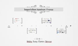 Imperialism Seminars