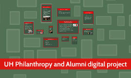 UH Philanthropy and Alumni digital project