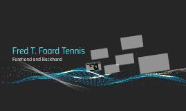 Fred T. Foard Tennis
