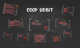 COOP DEBIT