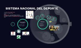 SISTEMA NACIONAL DEL DEPORTE