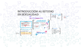 INTRODUCCIÓN AL ESTUDIO EN SEXUALIDAD