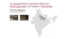 Wohnungsmarkt und Religion in Nordindien
