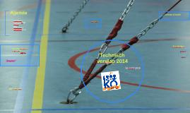 Technische verslag seizoen 2014