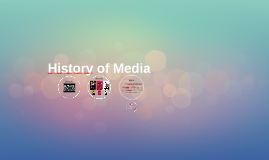 History of Media: Les 2
