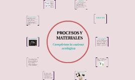 Procesos y materiales