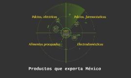 Exportaciones mexicanas