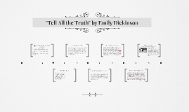"""""""Tell All the Truth"""" by Emily Dickinson"""