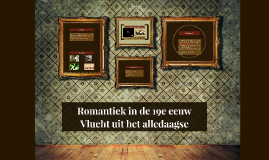 Romantiek in de 19e eeuw
