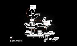 5 3D Artists