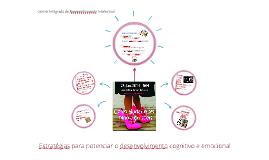 Estratégias para potenciar o desenvolvimento cognitivo e emo