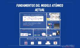 Fundamentos del modelo atómico actual