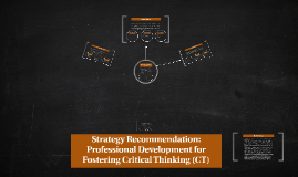 Strategy Recommendation: PD for CT