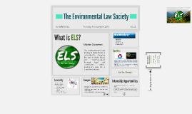 The Environmental Law Society