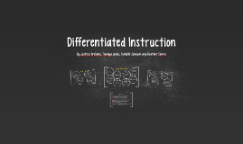 Copy of Differentiated Instruction