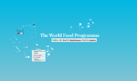 The World Food Organization