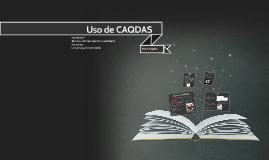 Uso de CAQDAS