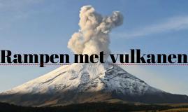 Rampen met vulkanen