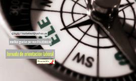 orientación laboral profesores de ELE Cálamo y Cran