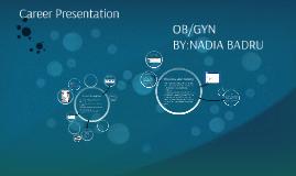 Career presentation