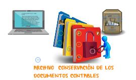 Copy of ARCHIVO  CONSERVACION DE LOS DOCUMENTOS CONTABLES