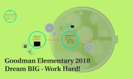 Goodman Elementary 2018