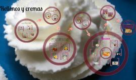 Copy of Rellenos y cremas en pasteleria y repostería