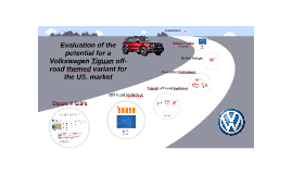 Copy of Evaluation of the potential for a VW Tiguan off road themed vehicle for the US Market