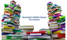 Randolph HS/MS Library