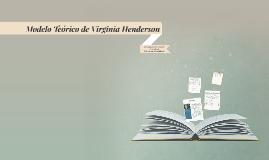 Teoria de Virginia Henderson