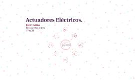Actuadores Eléctricos.