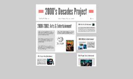 2000s Decades Project