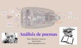 Copy of Analisis de poemas
