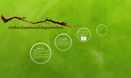 Carbon Capture and Sequestrations