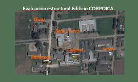 Evaluación estructural Edificio CORPOICA