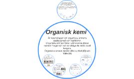 Kolkemi och organisk kemi