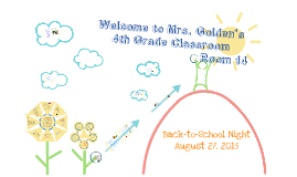 Back to School Night 2015-2016