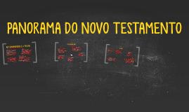 ABC - PANORAMA DO NOVO TESTAMENTO 1