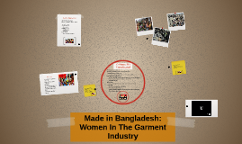Bangladeshi Women Garment Workers