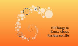 10 Things to Know About Residence Life