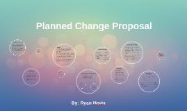 Planned Change Proposal