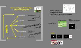 Interventie ontwikkeling + implementatie