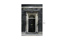 UK Politics 1951 - 2007