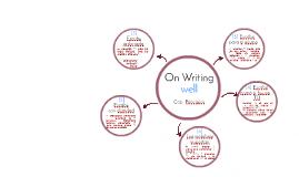 Libro On Writing well?