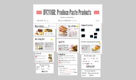 Unit 714: Produce paste Products