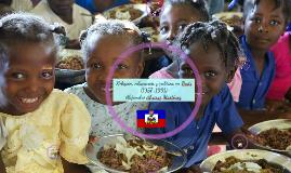 Religion, educación y política en Haití (1957-1991)